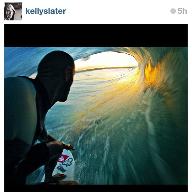 Kelly Slater Barrel Pole Cam