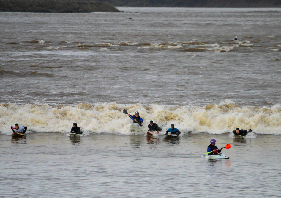 Wacky Races On The Severn Bore