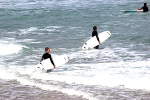 Get In The Water And Try It Surfing