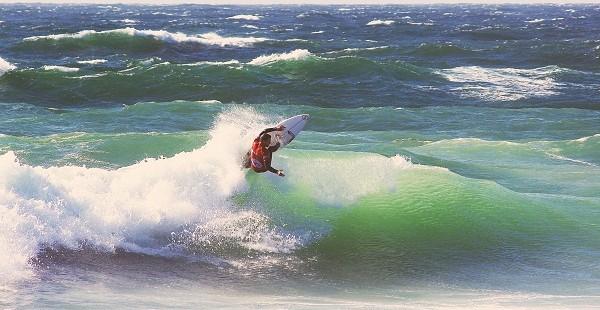 Jock Barnes Surfer - Over The Dune Photo