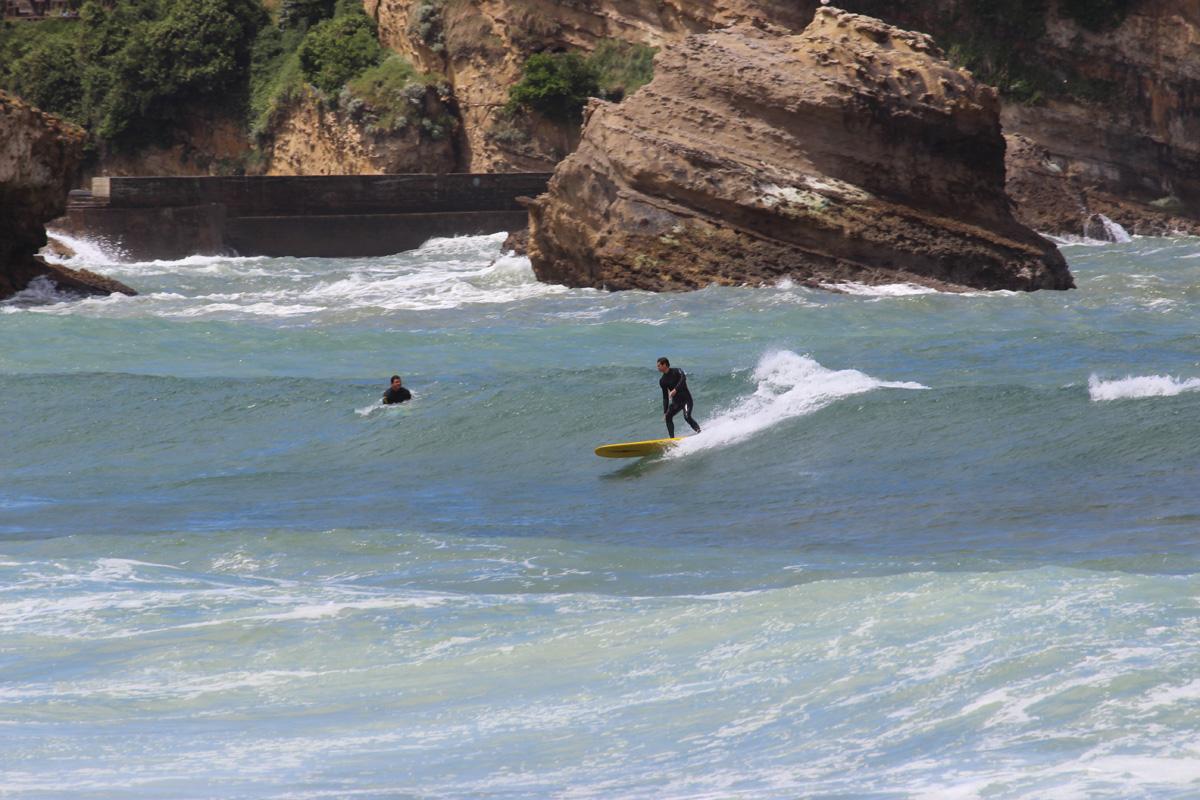 Surfing Grande Plage Biarritz