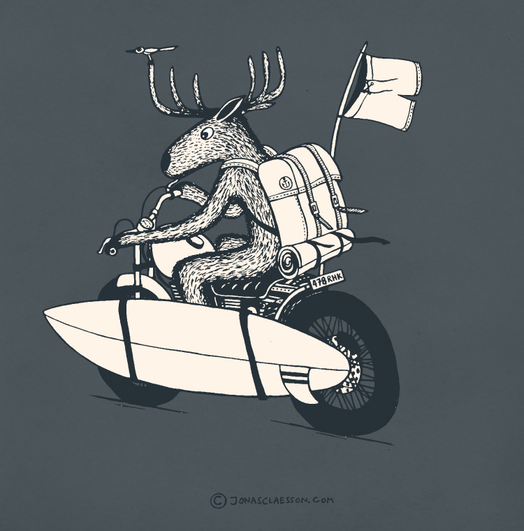 Jonas Claesson Moose-On-The-Loose-Illustration1
