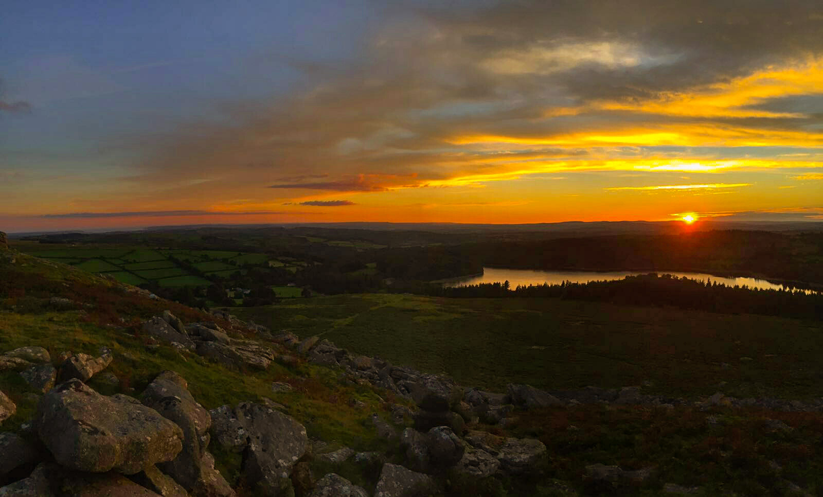 Paul King Dartmoor Sunset