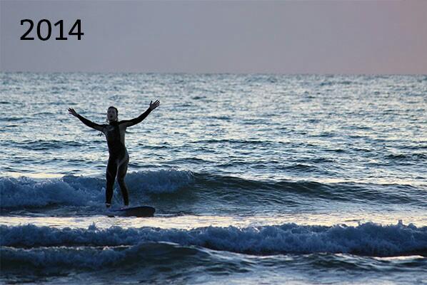 The surf blog begins! 2014 progress.