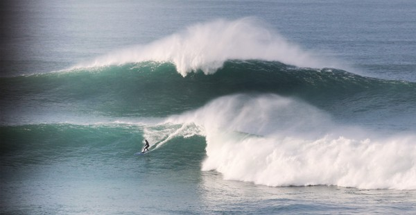 Big Wave Surfing Foamie Cribbar 16th December Sam Crosby