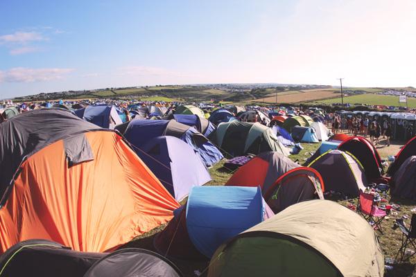 Festival Campsite Boardmasters 2016
