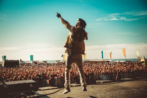 Watergate bay main stage Boardmasters 2016