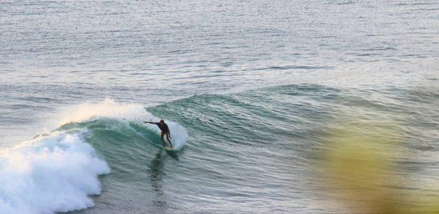 Surfing your first reef break