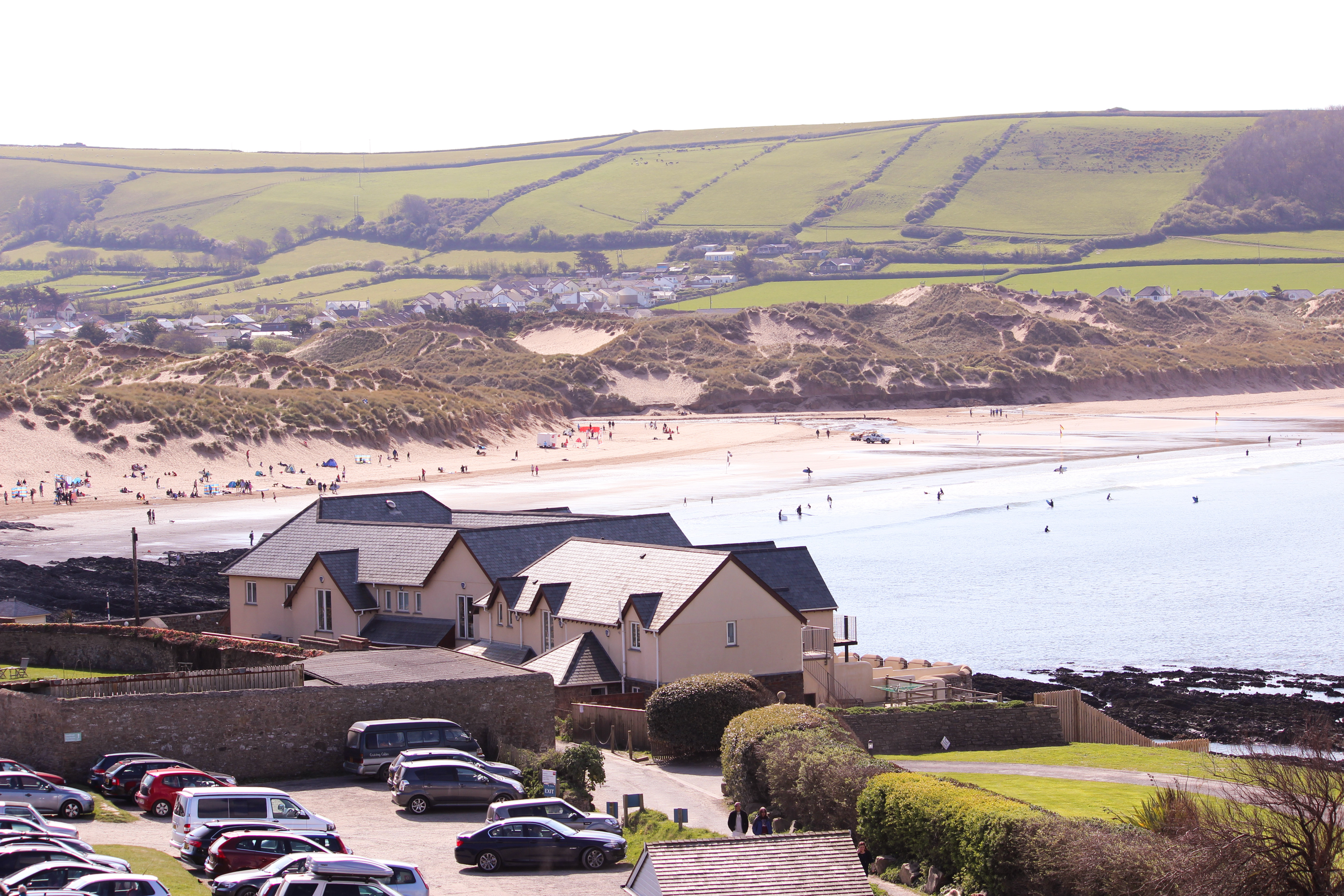 Croyde Bay From Baggy's Over The Dune